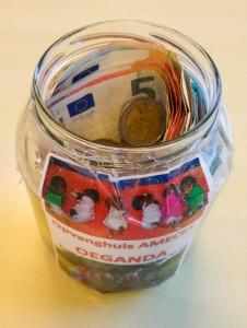 Donaties op de Klimopschool