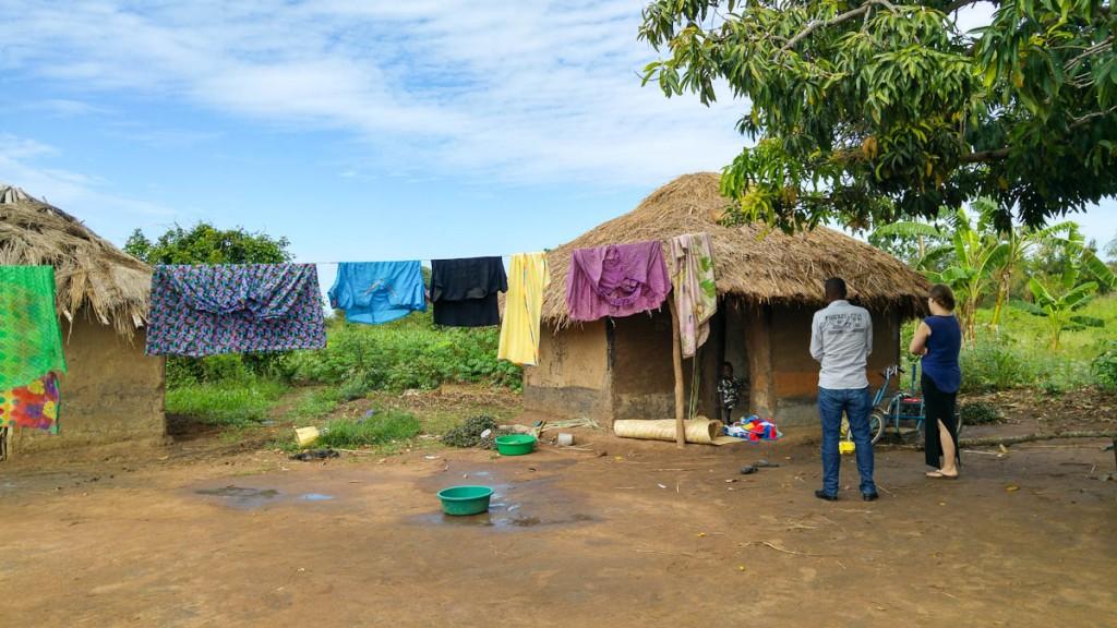 Oeganda village