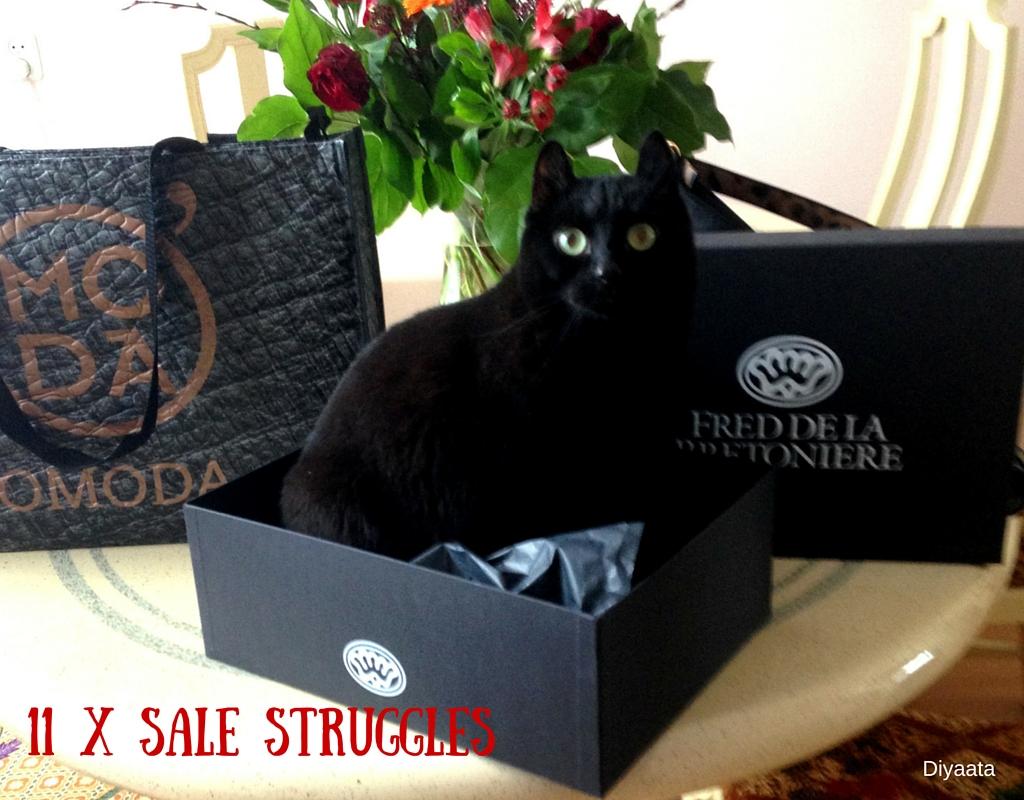 11 x Sale Struggles