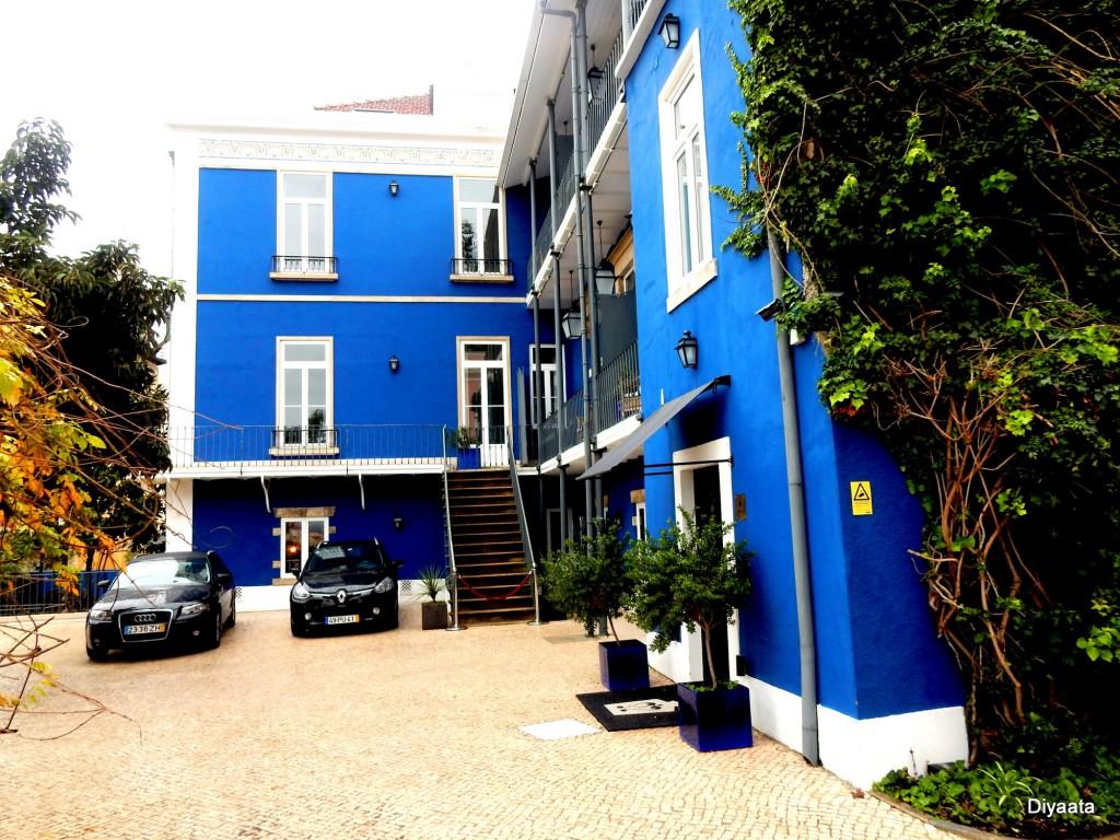 De blauwe toren - Torel Palace