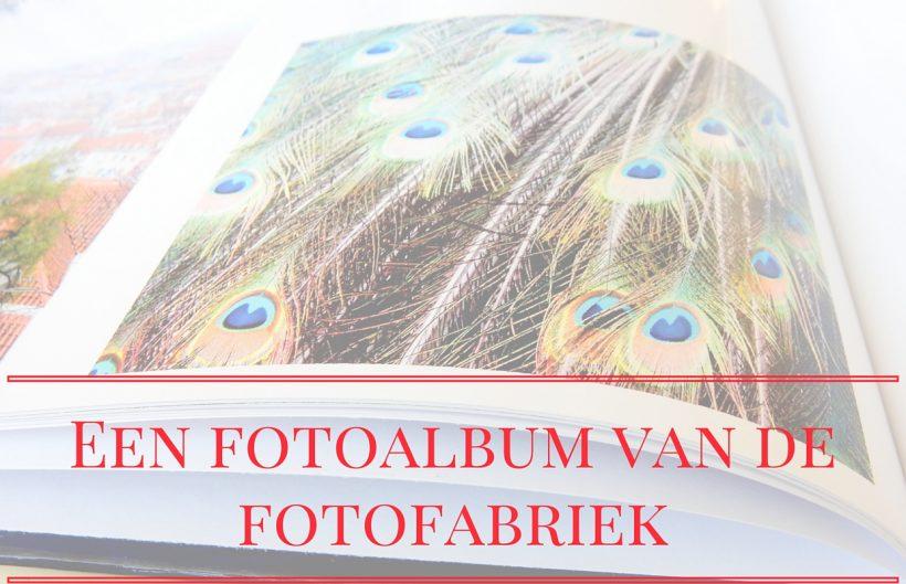 Een fotoboek van fotofabriek.nl