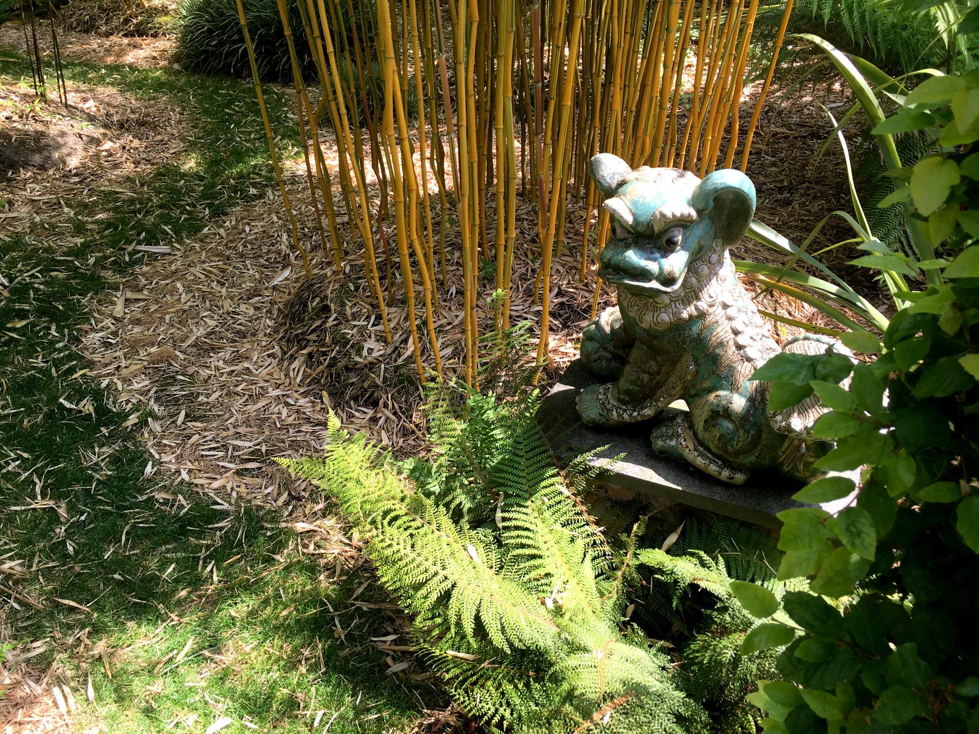 Bamboe Monnik - Bamboe en beeld