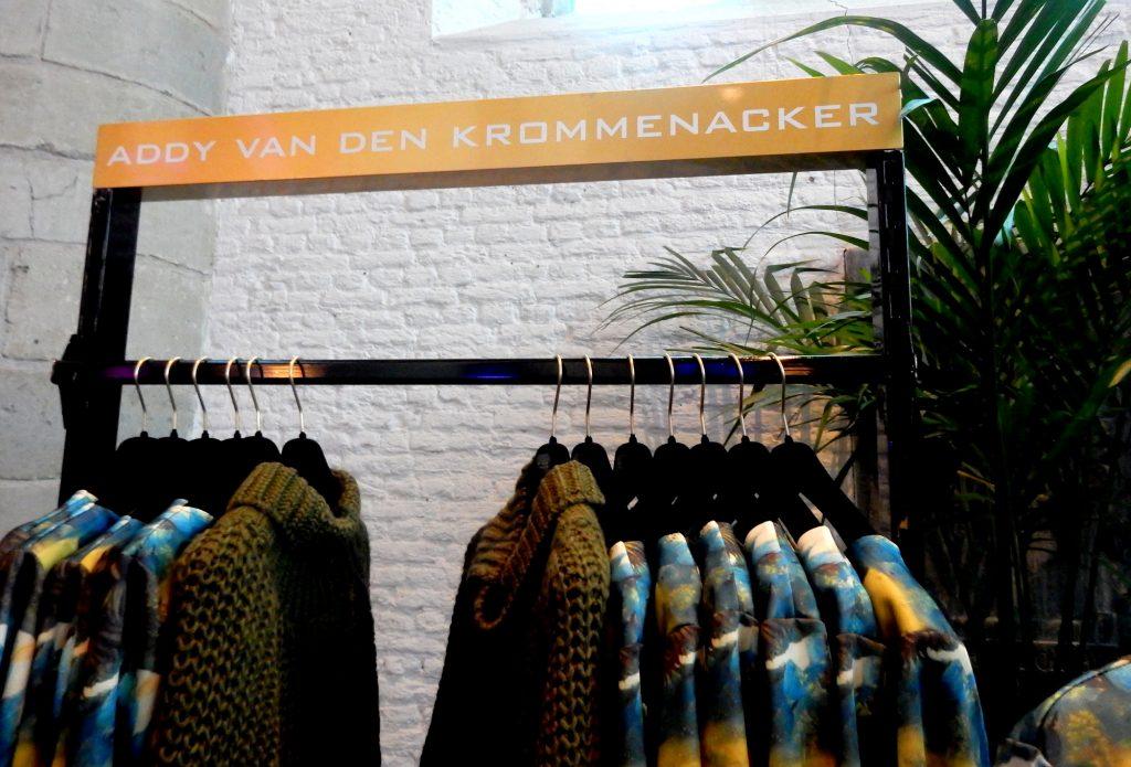 Pop Up store Addy van den Krommenacker