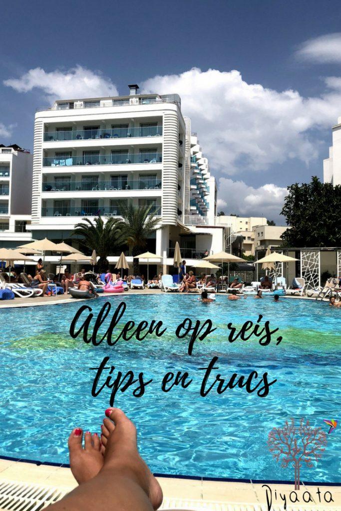 Alleen op reis, tips en trucs - diyaata.com