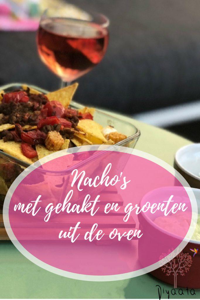 Nacho's met gehakt en groenten uit de oven - Diyaata.com