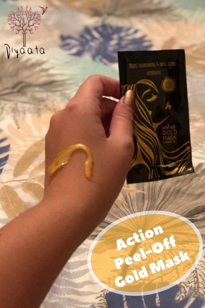 Gold Mask Peel Off Action - Diyaata.com